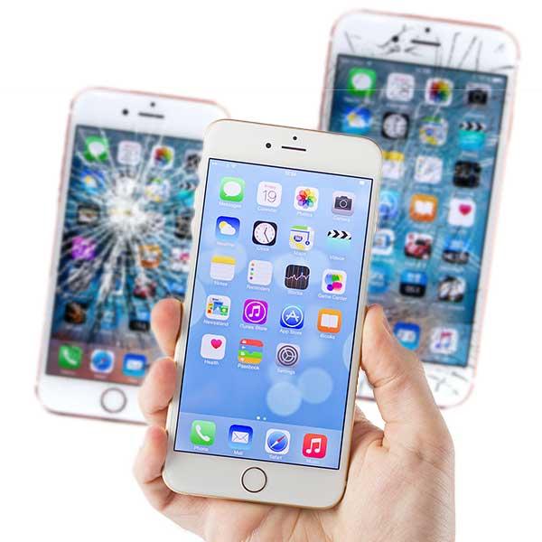 Ремонт и замена экранов и стекла на смартфоне